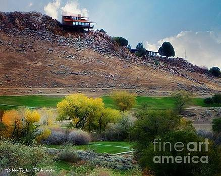 Fall at the Golf Course by Bobbee Rickard