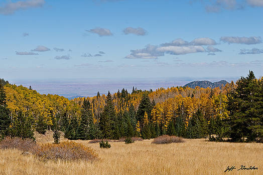 Fall Colors in the Inner Basin by Jeff Goulden