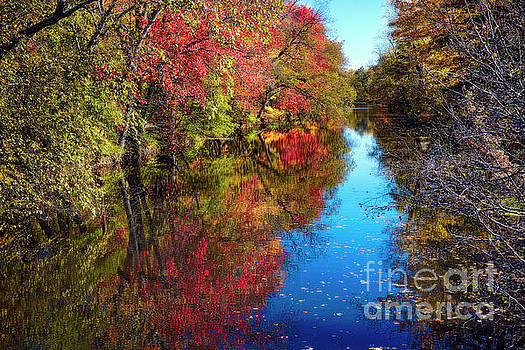 Fall Colors of Princeton by George Oze