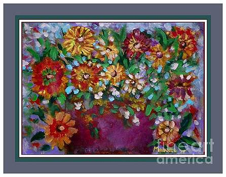 Fall Flowers by Shirley Moravec