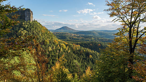 Fall in Bohemian Switzerland by Andreas Levi