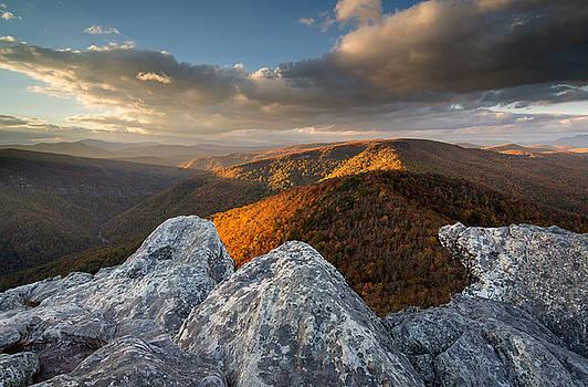 Fall in the Gorge by Derek Thornton