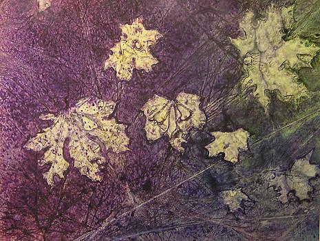 Fall Leaves by Karla Horst