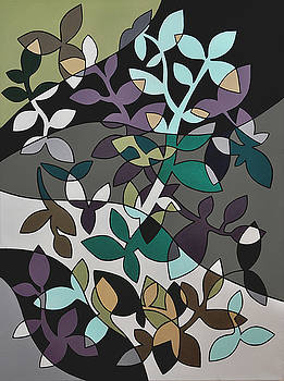 Fall of the leaf by Elena Bespalova