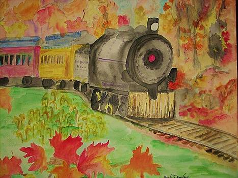 Fall Railings by Jack Donahue