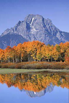 Sandra Bronstein - Fall Reflection at Oxbow Bend