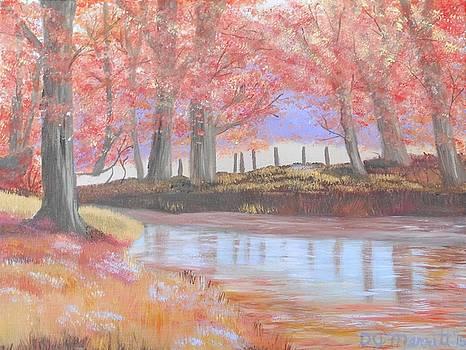 Fall Reflection by Dorothy Merritt