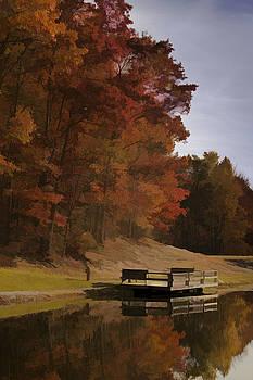 Fall Reflection by Jonas Wingfield