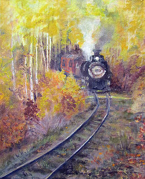 Fall Steam Ahead by Judie White