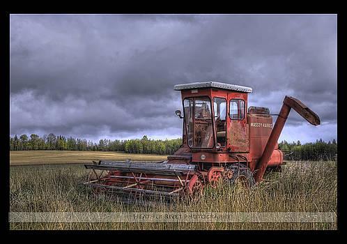 Fall Wheatfileds by Heather  Rivet