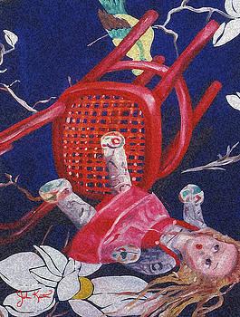 Fallen Desire Detail by John Keaton