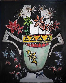 Falling petals by Adalardo Nunciato  Santiago