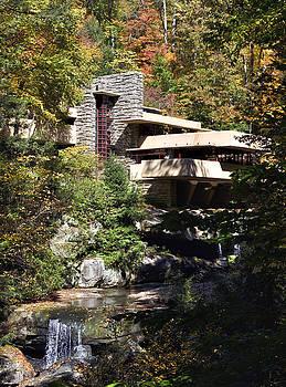 Fallingwater by Frank Lloyd Wright by Brendan Reals