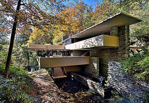 Fallingwater Pennsylvania - Frank Lloyd Wright by Brendan Reals