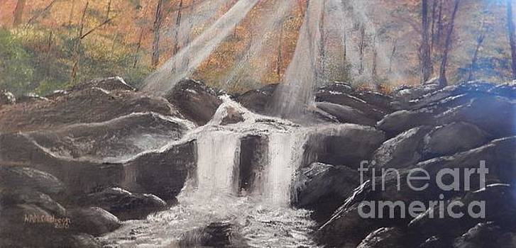 Falls at Pigeon Forge by William McCutcheon