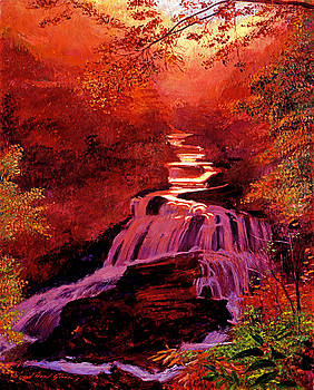 David Lloyd Glover - Falls of Fire