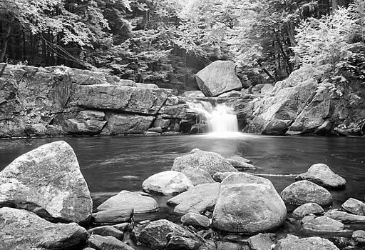 Falls with Boulders by Antonio Gruttadauria