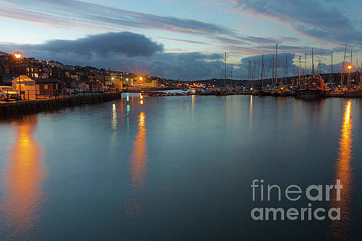 Falmouth Inner Harbour by Terri Waters