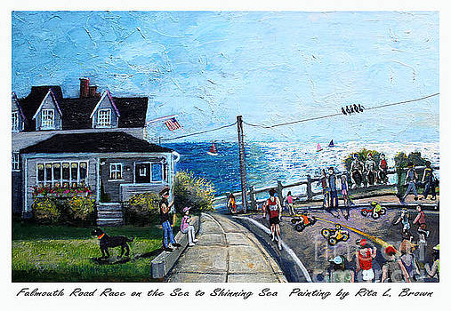 Falmouth Road Race 2015 by Rita Brown