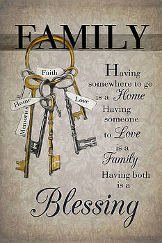 Family Is A Blessing by Robin-Lee Vieira