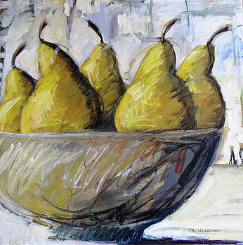 Family of Pears by Marianne  Gargour