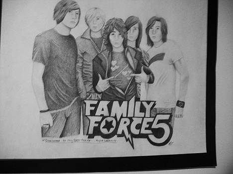 FamilyForce5 by Katherine Paggeot