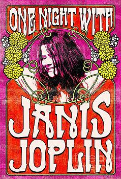 Famous Janis Joplin Concert Posters by Pd