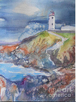 Fanad lighthouse by Patricia Pushaw