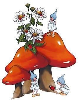 Joyce Geleynse - Fantasy Art Gnomes and Toadtools
