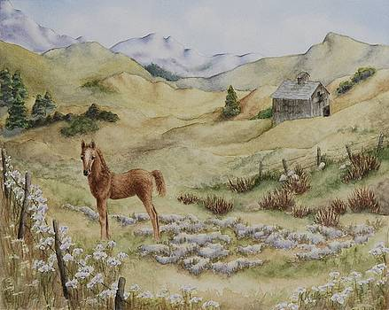 Fantasy Field by Kathleen Keller