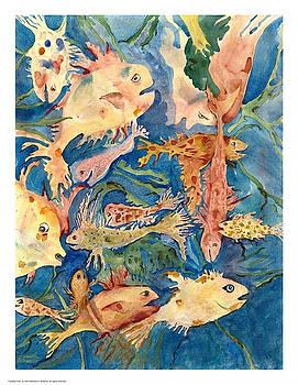 Fantasy Fish by Marlene Robbins