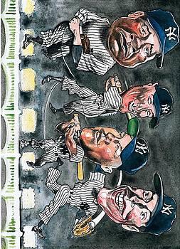 Farewell Yankee Stadium by Robert  Myers