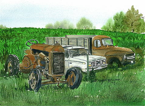 Farm Country Collectables I by Bud Bullivant