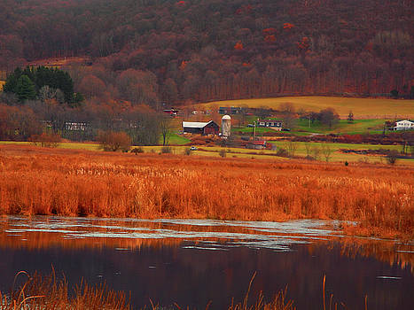 Raymond Salani III - Farm from Wallkill River National Wildlife Refuge