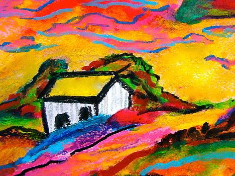 Farm House by Esther Wilhelm Pridgen