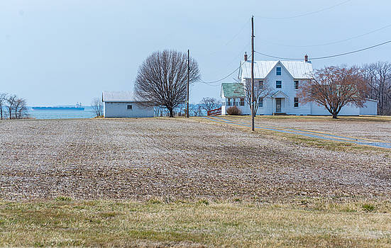 Farm on the Bay by Charles Kraus