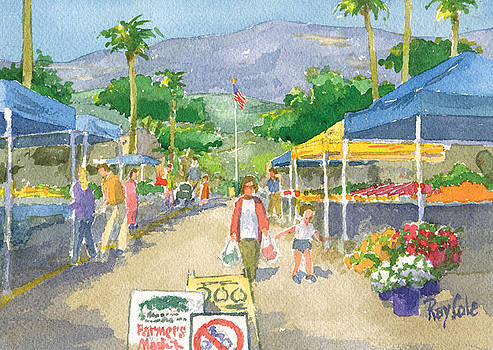 Farmers Market by Ray Cole