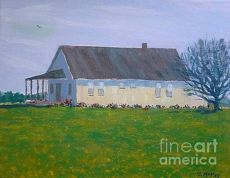 Farmhouse In Winlock Washington by Suzanne McKay