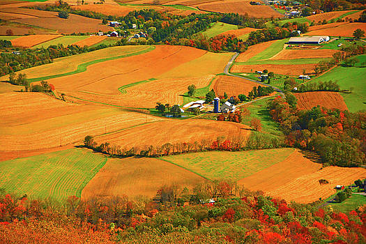 Farms Can Be Seen from PA AT by Raymond Salani III