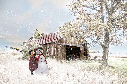 Farmstyle Snowman by Mary Timman
