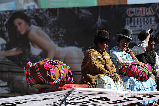 James Brunker - Fashion Contrasts in Bolivia