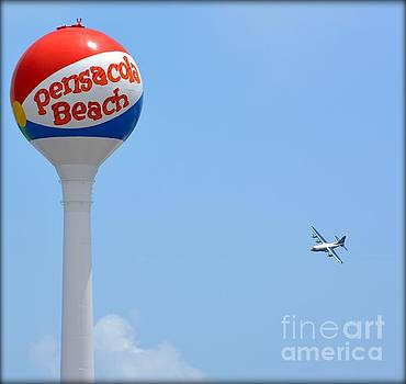 Fat Albert at Pensacola Beach by Janice Spivey