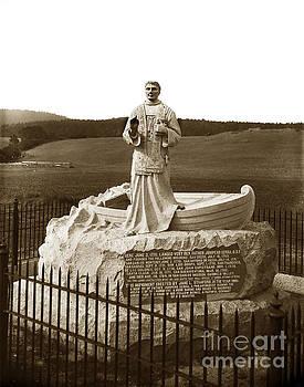 California Views Mr Pat Hathaway Archives - Father Junipero  Serra, Granite monument. Monterey Presidio 1891
