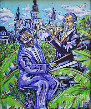 Fats And Satchmo by Tami Curtis