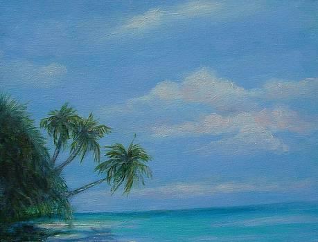 Favorite Beach in Figi by Phyllis OShields