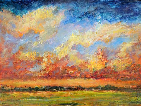 Feathered Sky by Mary Schiros