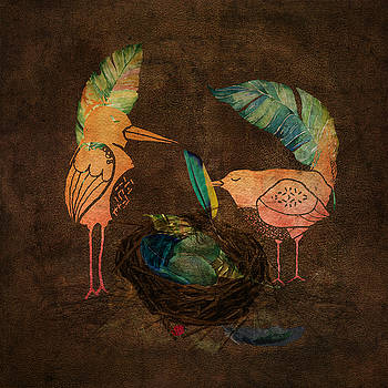 Feathering Their Nest by Terry Fleckney