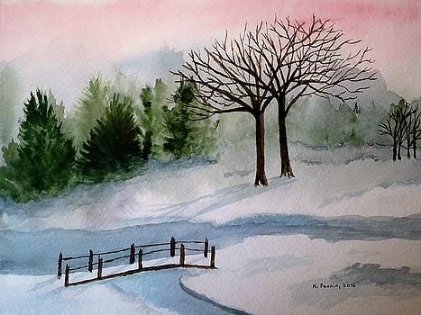 February Dawn by B Kathleen Fannin