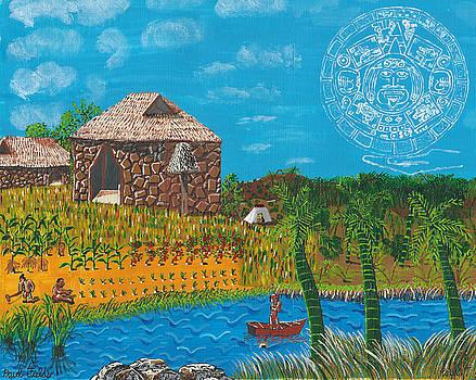 February  Mayan Farm by Paul Fields