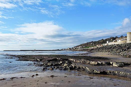 February Seascape 2 - Lyme Regis by Susie Peek